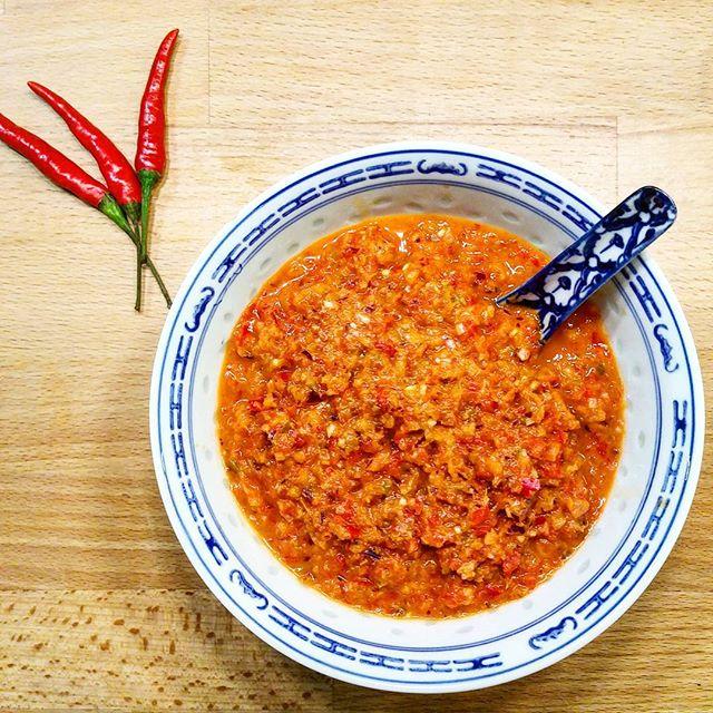 Pâte de Curry Rouge à la Thaï - Copyright © Gratinez