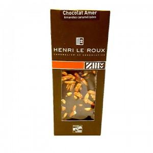 Chocolat amer, amandes caramélisées Henri Le Roux - Copyright © Gratinez