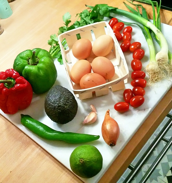 Huevos Rancheros, œufs à la mexicaine - Copyright © Gratinez