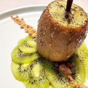 Kiwi rôti au miel vanillé - Copyright © Gratinez