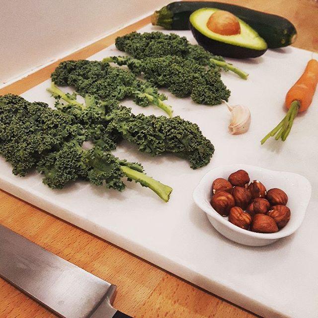 Salade de chou kale ingrédients - Copyright © Gratinez