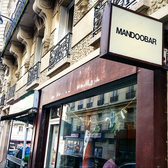 Façade du Mandoobar – Copyright © Gratinez