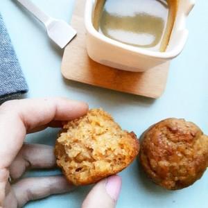 Muffins végans au sirop d'érable et à la patate douce – Copyright © Gratinez