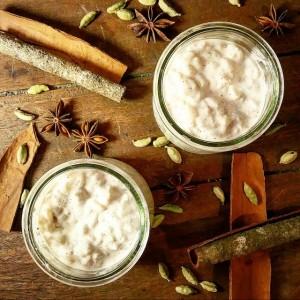 Riz au lait crémeux aux 3 épices – Copyright © Gratinez