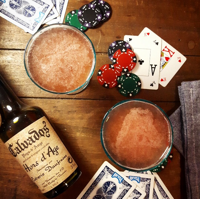 "Cocktail au calvados ""Jack Rose"" – Copyright © Gratinez"