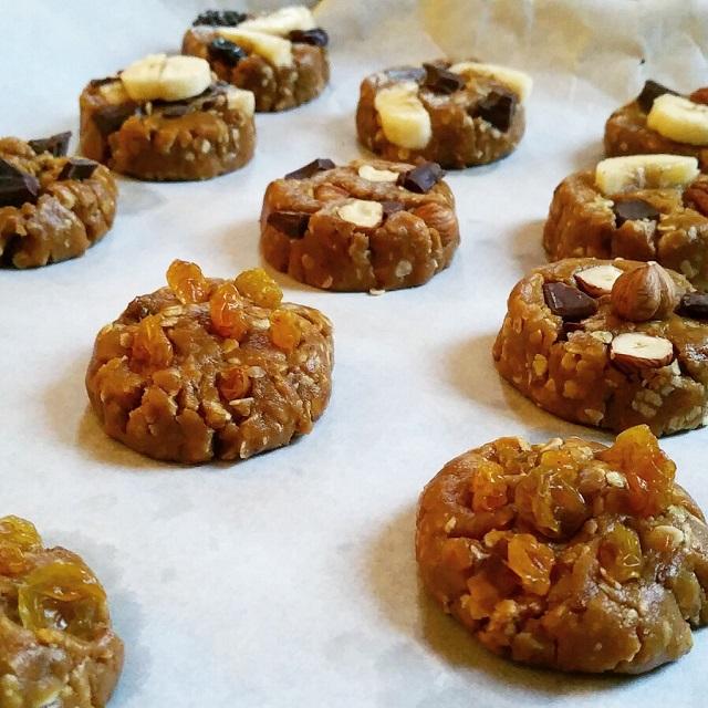 Cookies végans au beurre de cacahuètes – Copyright © Gratinez