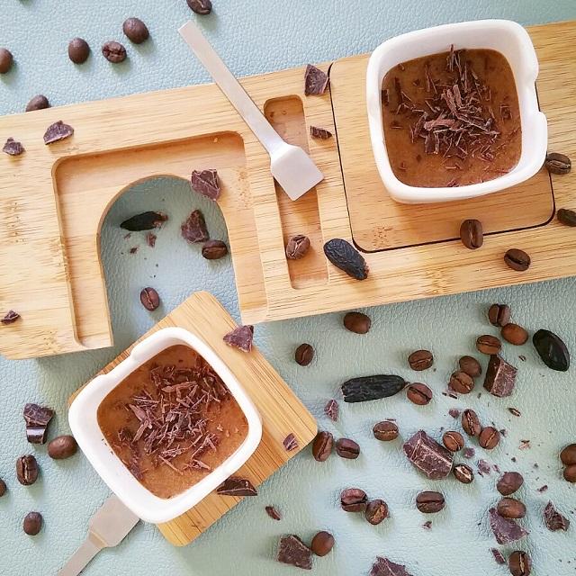 Mousse de spéculoos, café et tonka – Copyright © Gratinez
