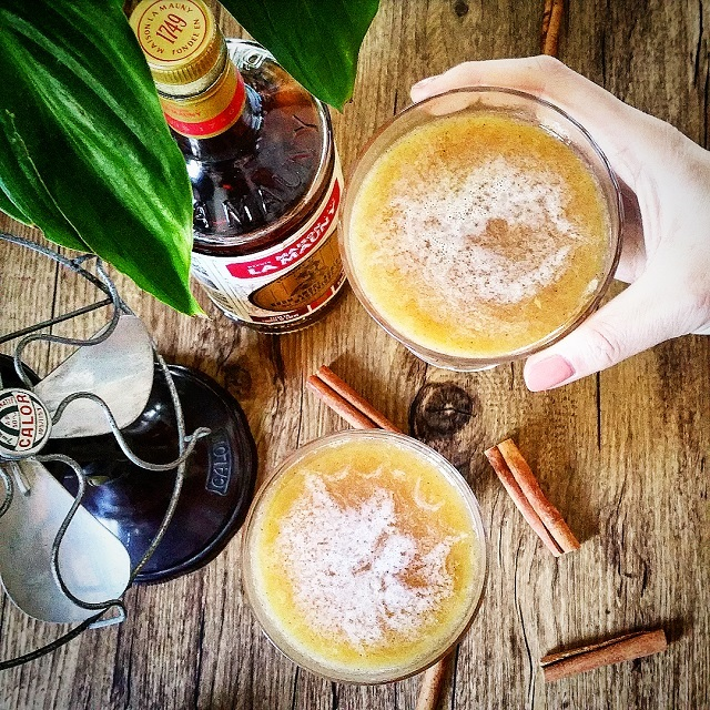 "Cocktails ""La Mauny Marmelade"", rhum, cannelle et marmelade – Copyright © Gratinez"