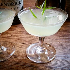 "Cocktail ""Gin Tarragon Smash"", pour changer du mojito menthe – Copyright © Gratinez"