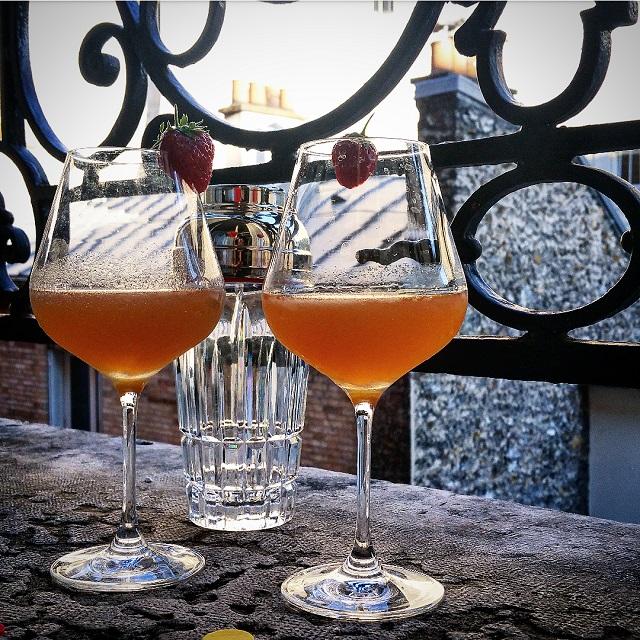 Cocktail Ibérie, sur les toits de Paris – Copyright © Gratinez