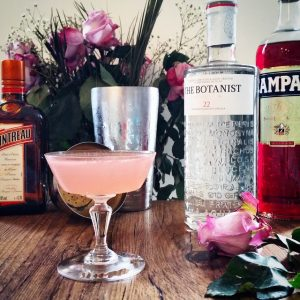 "Cocktail ""Jasmine"", un joli rose trompeur – Copyright © Gratinez"