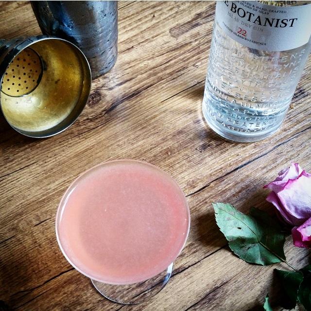 "Cocktail ""Jasmine"", un joli rose trompeur – Copyright © Gratinez"