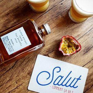 """Cocktail """"Asagao Fizz"""", la passion d'un fruit pour le whisky – Copyright © Gratinez"""
