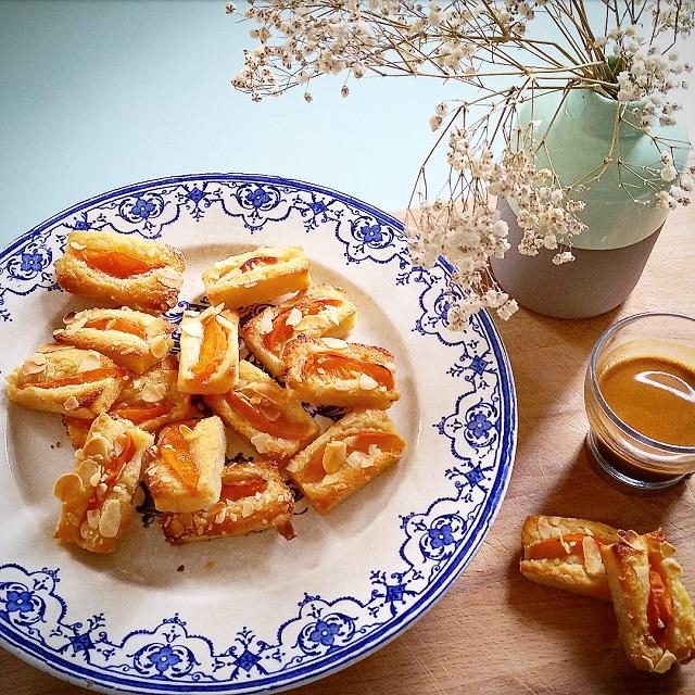 Financiers aux abricots et amandes, vegan – Copyright © Gratinez