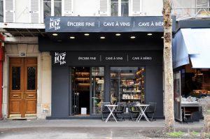 Epicerie fine Le 107 Bis, Paris 18ème - Crédit photo © Le 107 Bis