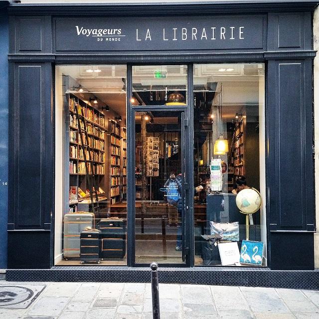 Librairie Voyageurs du Monde – Copyright © Gratinez