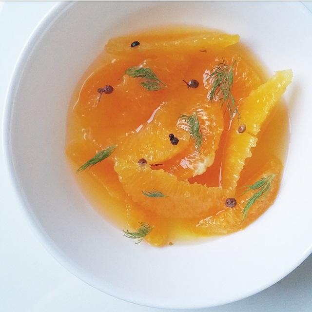 Suprêmes d'oranges, safran et baies du Sichuan – Copyright © Gratinez
