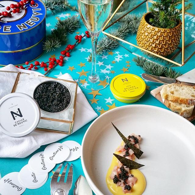 Concours Caviar : Partagez notre photo sur Instagram et Facebook – Copyright © Gratinez / Arts de la table par Mamadeko