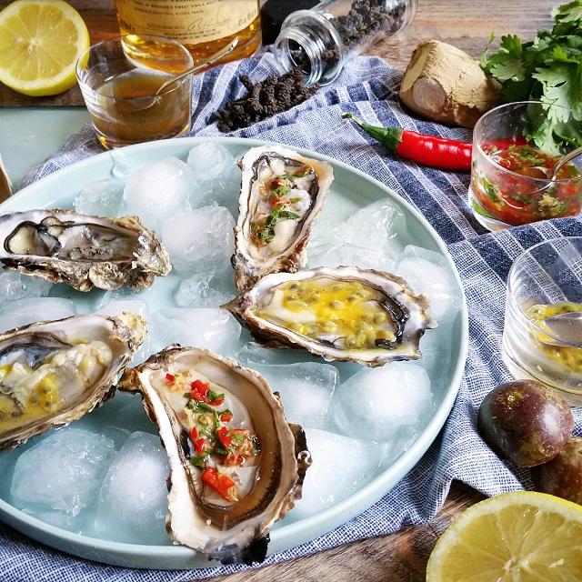 3 vinaigrettes originales pour accompagner les huîtres – Copyright © Gratinez