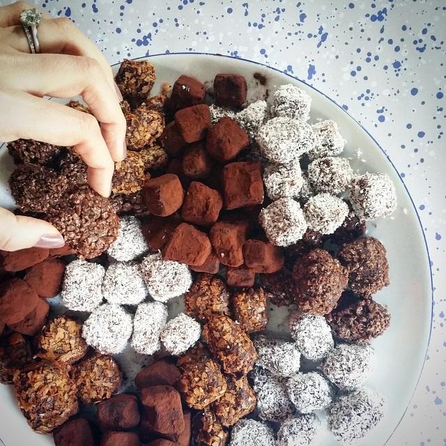 Truffes au chocolat pour tous les goûts – Copyright © Gratinez