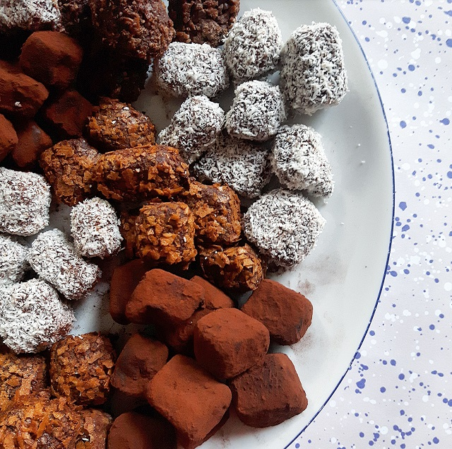 Truffes au chocolat – Copyright © Gratinez