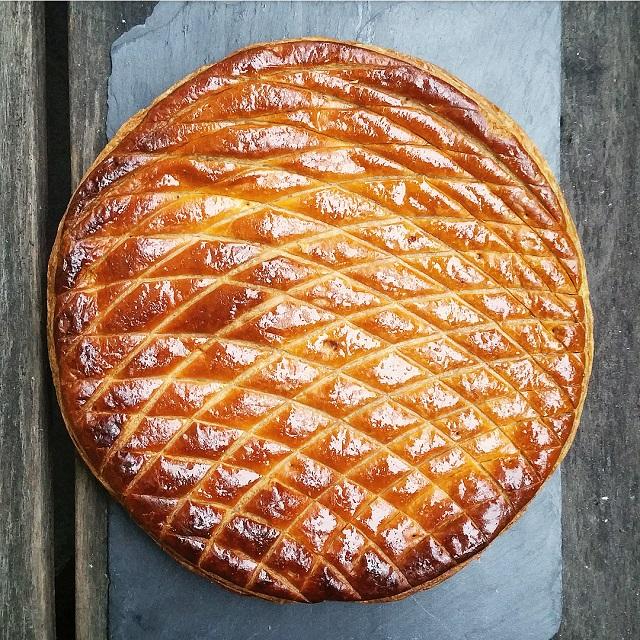 Galette des rois de la boulangerie Dominique Saibron – Copyright © Gratinez