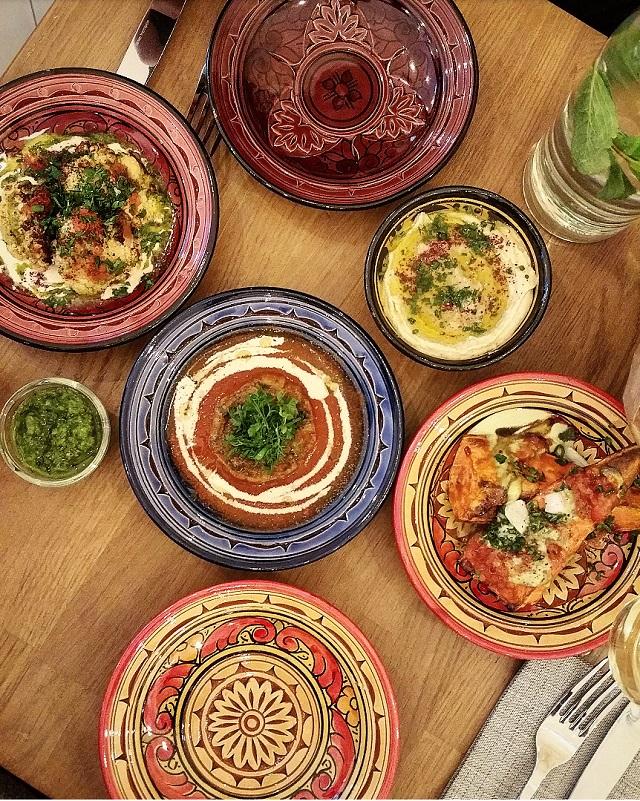 Déclinaison d'entrées, restaurant Tavline – Copyright © Gratinez