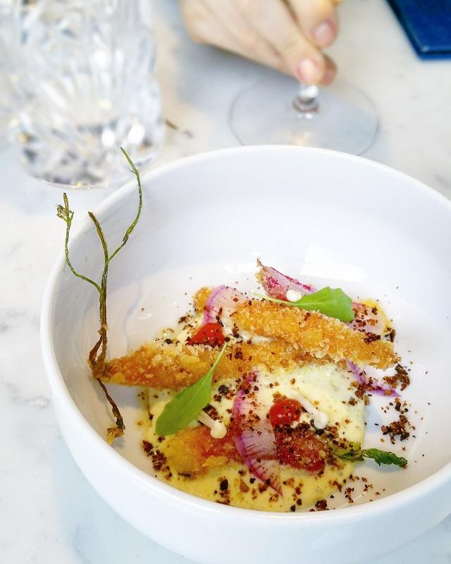 Amuses-Bouches, Légumes divers, chez Sourire Restaurant – Copyright © Gratinez