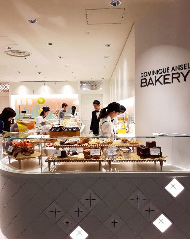 Boutique Dominique Ansel à Mitsukoshi – Copyright © Gratinez