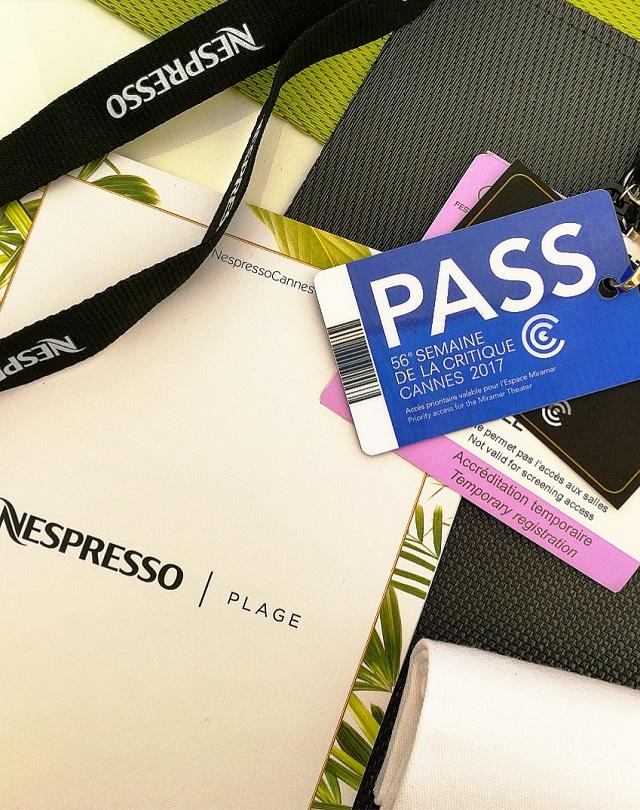 Plage Nespresso, Cannes – Copyright © Gratinez