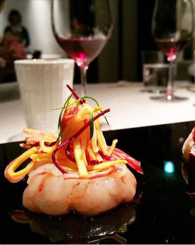 Botan Shrimp, Ishikawa - Narisawa, Tokyo, Japon – Copyright © Gratinez