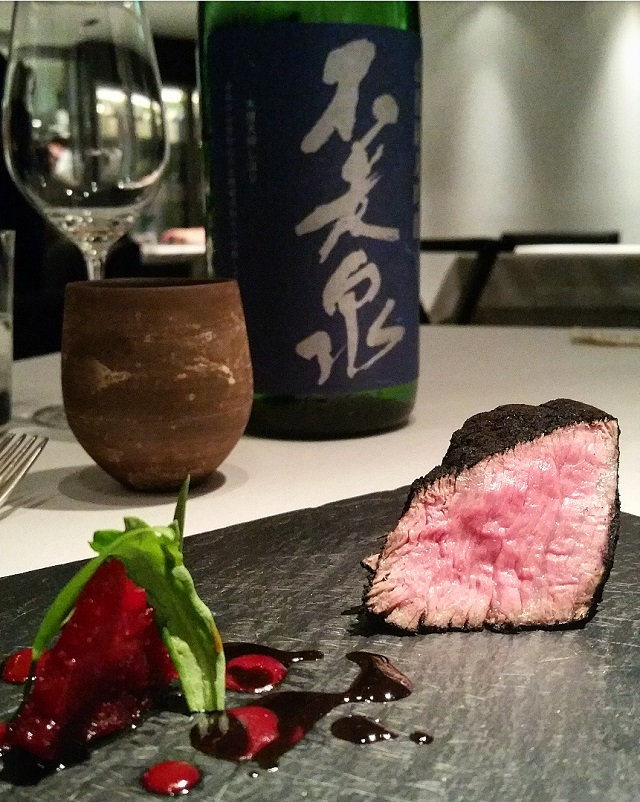"""Sumi 2008"" Kobe Beef, Hyogo - Narisawa, Tokyo, Japon – Copyright © Gratinez"