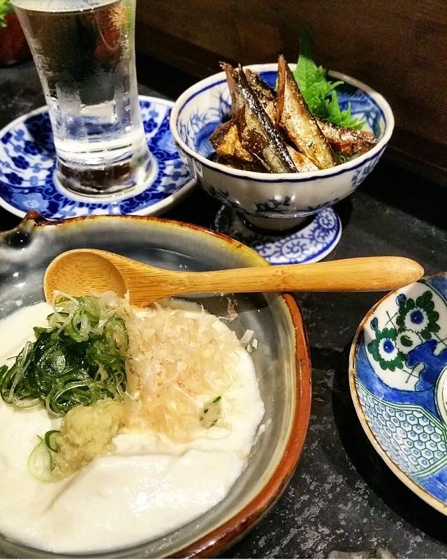 Tofu – Masuya Saketen, Kyoto, Japon – Copyright © Gratinez