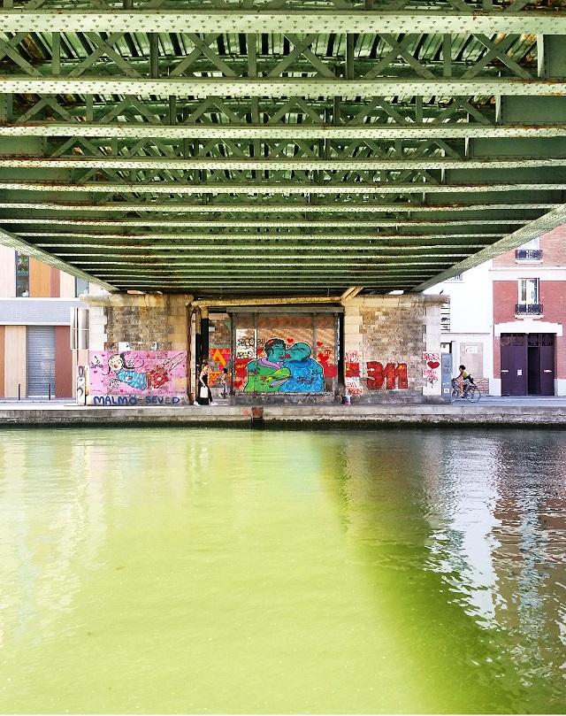 Canal de l'Ourcq, Paris – Copyright © Gratinez
