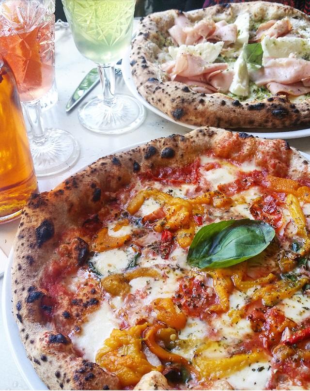 Pizze, chez Simonetta – Copyright © Gratinez