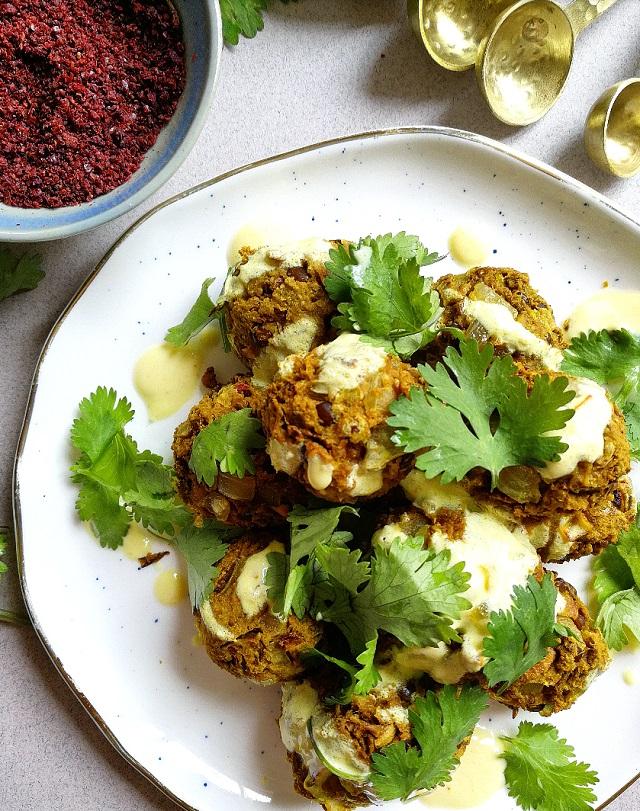 Boulettes végétaliennes lentilles et épices – Copyright © Gratinez