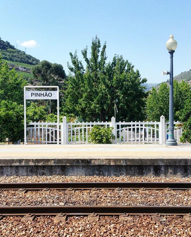 Gare de Pinhao, au cœur de la vallée du Douro – Copyright © Gratinez