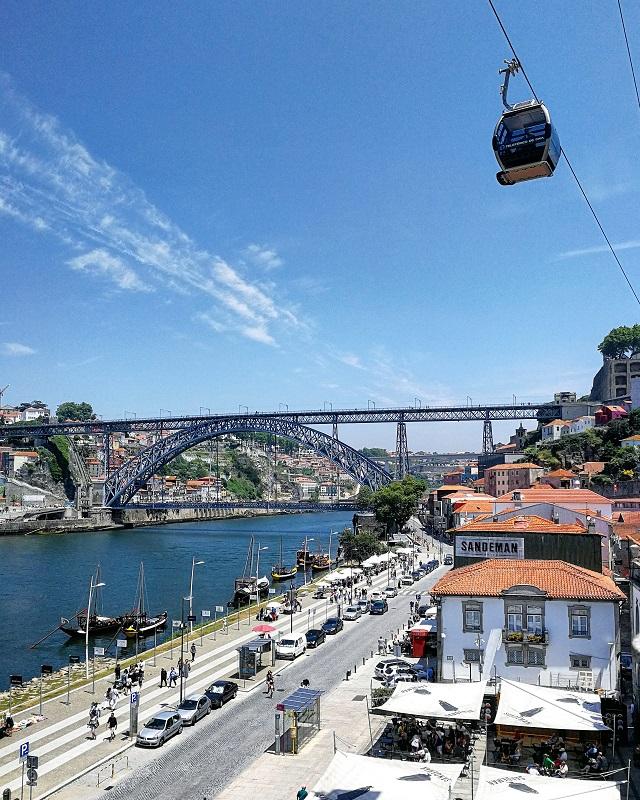 Vue sur la ville de Porto depuis la maison Gran Cruz – Copyright © Gratinez