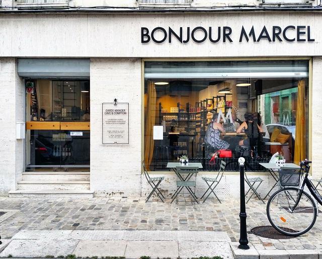 Épicerie fine Bonjour Marcel, Bourges – Copyright © Gratinez