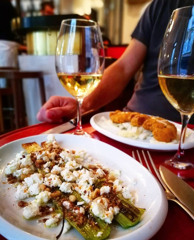 Assiettes pleines de partage, chez Soif, Bordeaux – Copyright © Gratinez