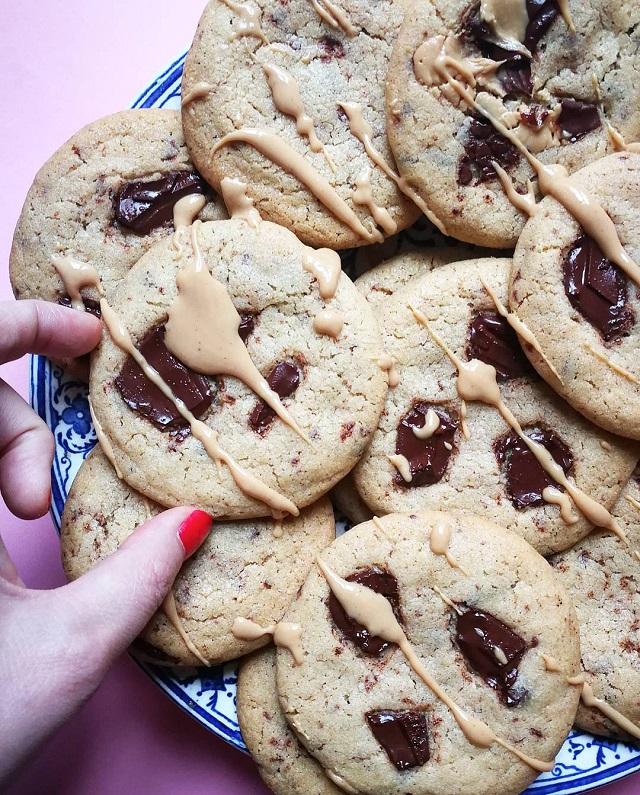 Cookies de Noël, moelleux à cœur, croustillants à l'extérieur – Copyright © Gratinez