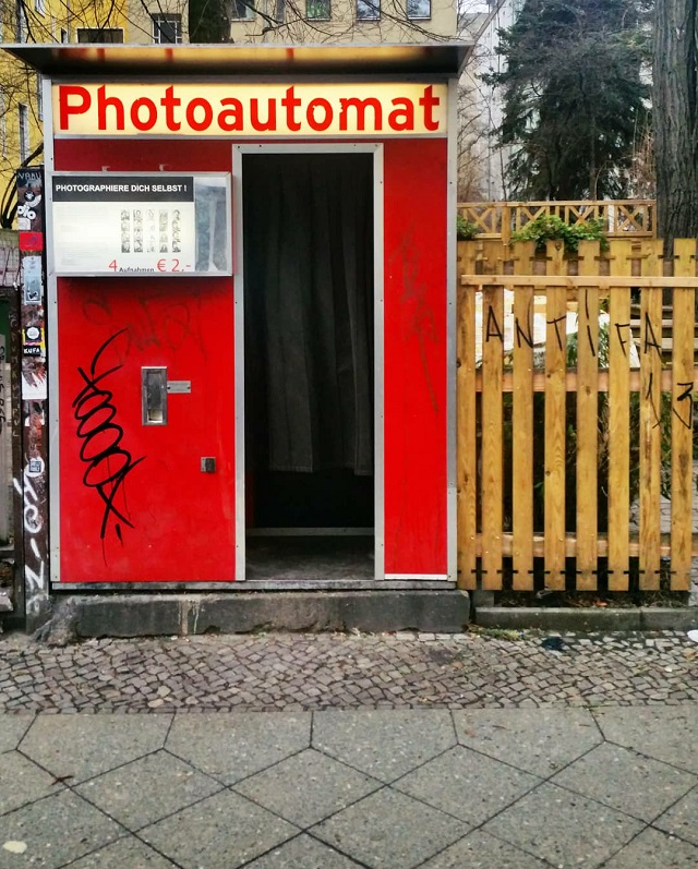 Photoautomat, Berlin – Copyright © Gratinez