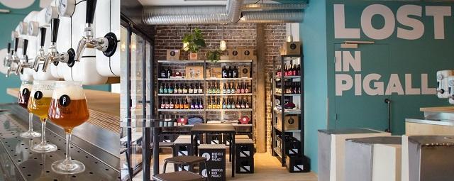 Brussels Beer Project, quartier Pigalle, Paris – Copyright © Marlène Huet Studio