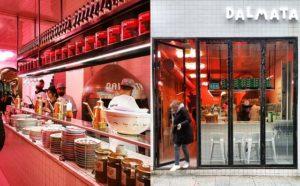 La pizzeria Dalmata, quartier Montorgueil, Paris – Copyright © Gratinez