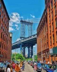 Brooklyn, vue sur le Manhattan Bridge – Copyright © Gratinez